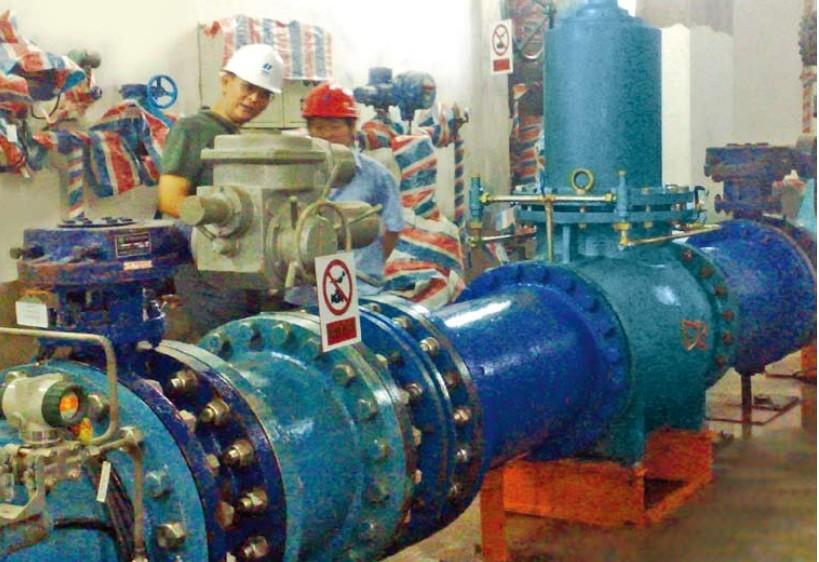 湘潭 减压阀/冷却水系统在水电站的循环利用